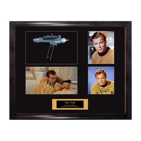 Signed Star Trek Phaser Gun // William Shatner