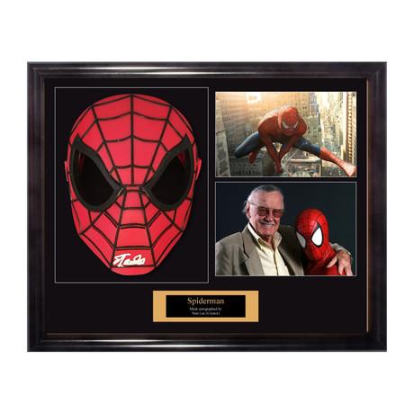 Signed Spider-Man Mask // Stan Lee