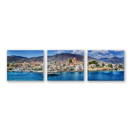 My Mediterranean Mood Triptych