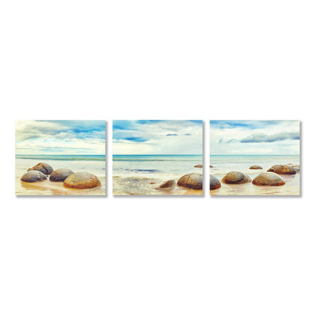 On the Rocks Triptych