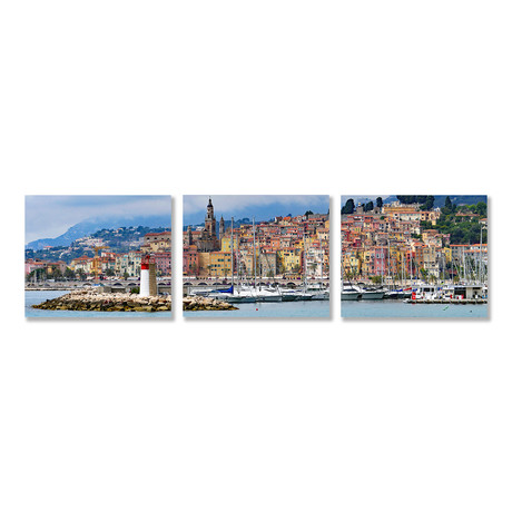 South of France Triptych