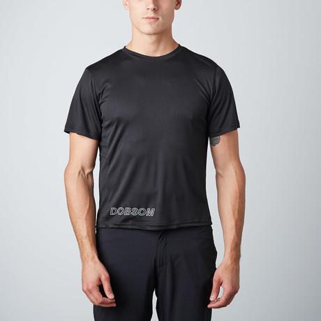 Basic Stretch T-Shirt // Black