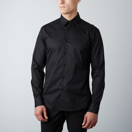 Classic Button-Up Shirt // Black