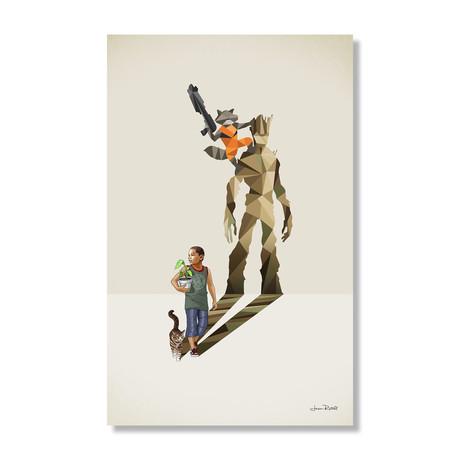 """Bazooka Buddies (16""""W x 24""""H x .045""""D // Aluminum Print)"""