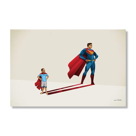 """Kid of Steel (24""""W x 16""""H x .045""""D // Aluminum Print)"""