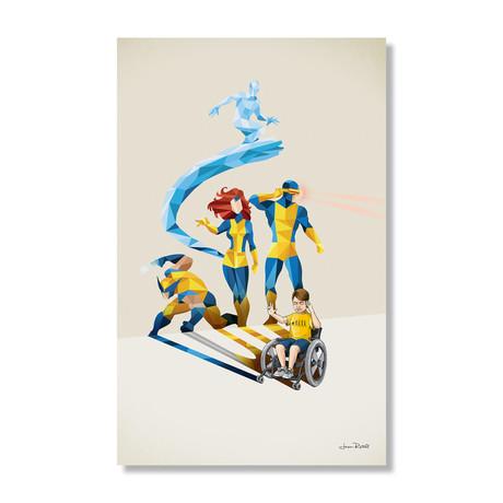 """Will Power (16""""W x 24""""H x .045""""D // Aluminum Print)"""
