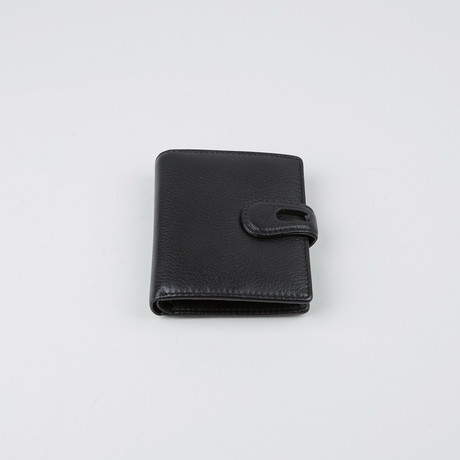 Napa Leather Wallet // Black