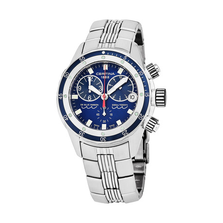 Certina DS Chronograph Quartz // C007.417.11.041.00