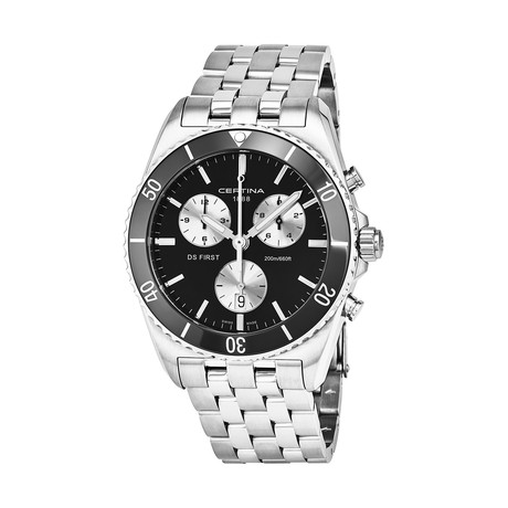 Certina DS First Chronograph Quartz // C014.417.11.051.01