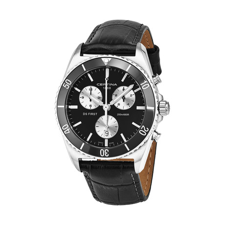 Certina DS First Chronograph Quartz // C014.417.16.051.00