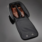 Dapperman // Travel Shoe Case // Black