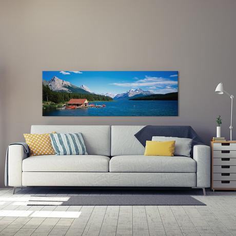 Canada, Alberta, Maligne Lake