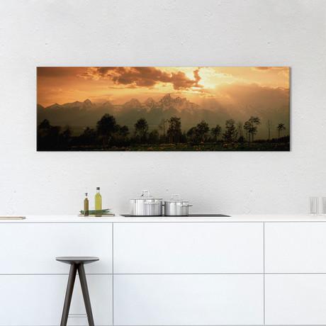 Dawn Teton Range