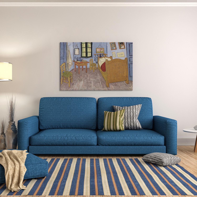 Van Gogh Bedroom In Arles: Bedroom In Arles, Third Version // September 1889