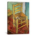 """Vincent's Chair, 1888 (18""""W x 26""""H x 0.75""""D)"""