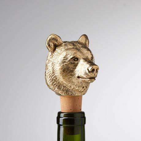 Bear Wine Stopper