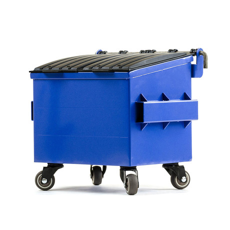 Mini Dumpster // Blue
