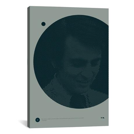 "Carl Sagan // 2046 Design (26""W x 18""H x 0.75""D)"