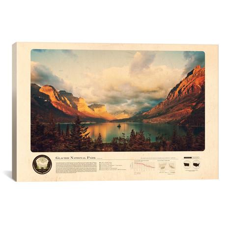 """Glacier National Park // 2046 Design (18""""W x 12""""H x 0.75""""D)"""