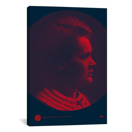 """Marie Curie // 2046 Design (26""""W x 18""""H x 0.75""""D)"""
