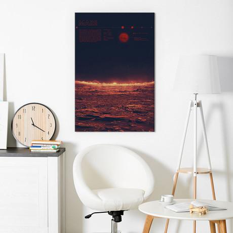 "Mars (26""W x 18""H x 0.75""D)"