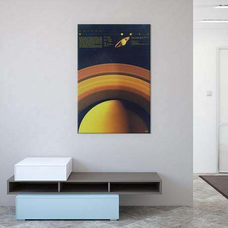 """Saturn (26""""W x 18""""H x 0.75""""D)"""