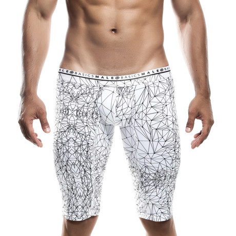 Spider Athletic Hipster Boxer Brief // Black + White