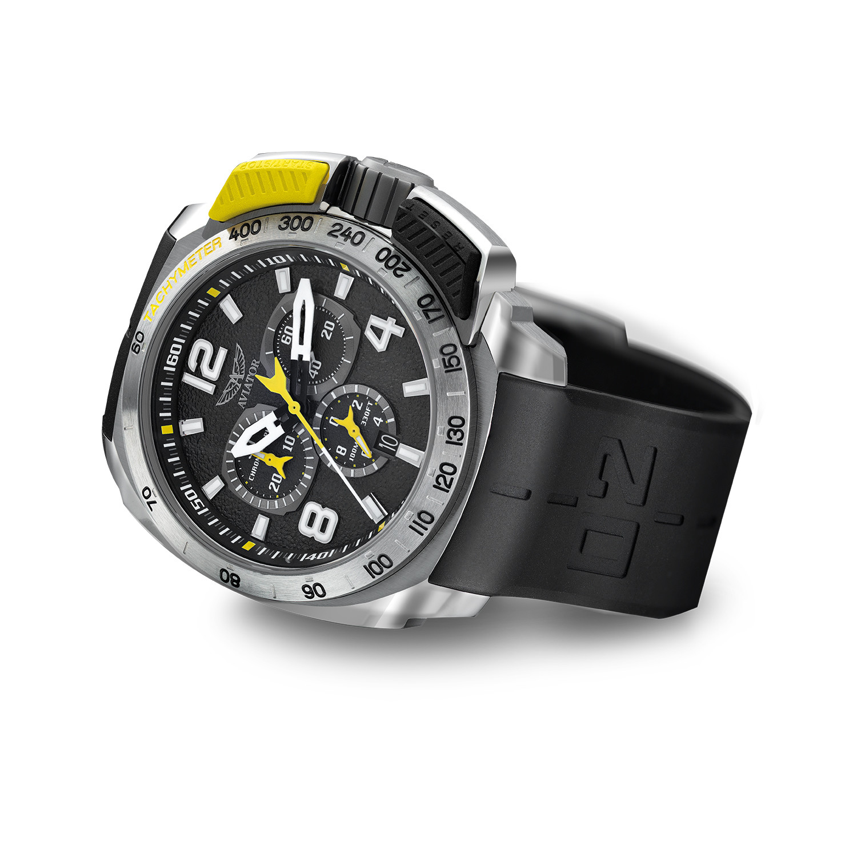 3cccf2717d1 Aviator Top Pusher Professional Chronograph Quartz    P.2.15.0.088.6 ...