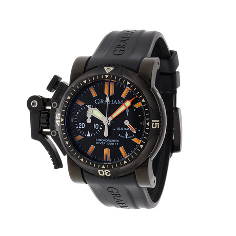 Graham Chronofighter Oversize Diver Deep Seal Automatic // 2OVEZ.B02B.K10B // Pre-Owned