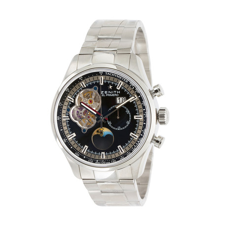 Zenith El Primero Chronomaster Open Grande Date Automatic // 03.2160.4047/21.M2160 // Unworn