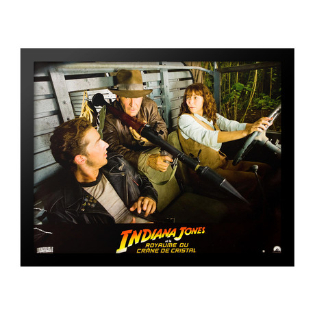 Lobbycard // Indiana Jones And The Kingdom Of The Crystal Skull // French Edition