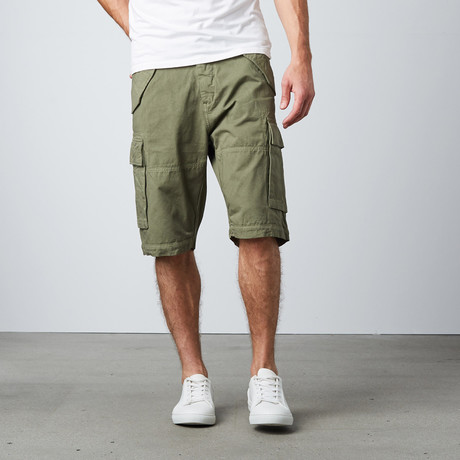Cargo Shorts // Slate Grey