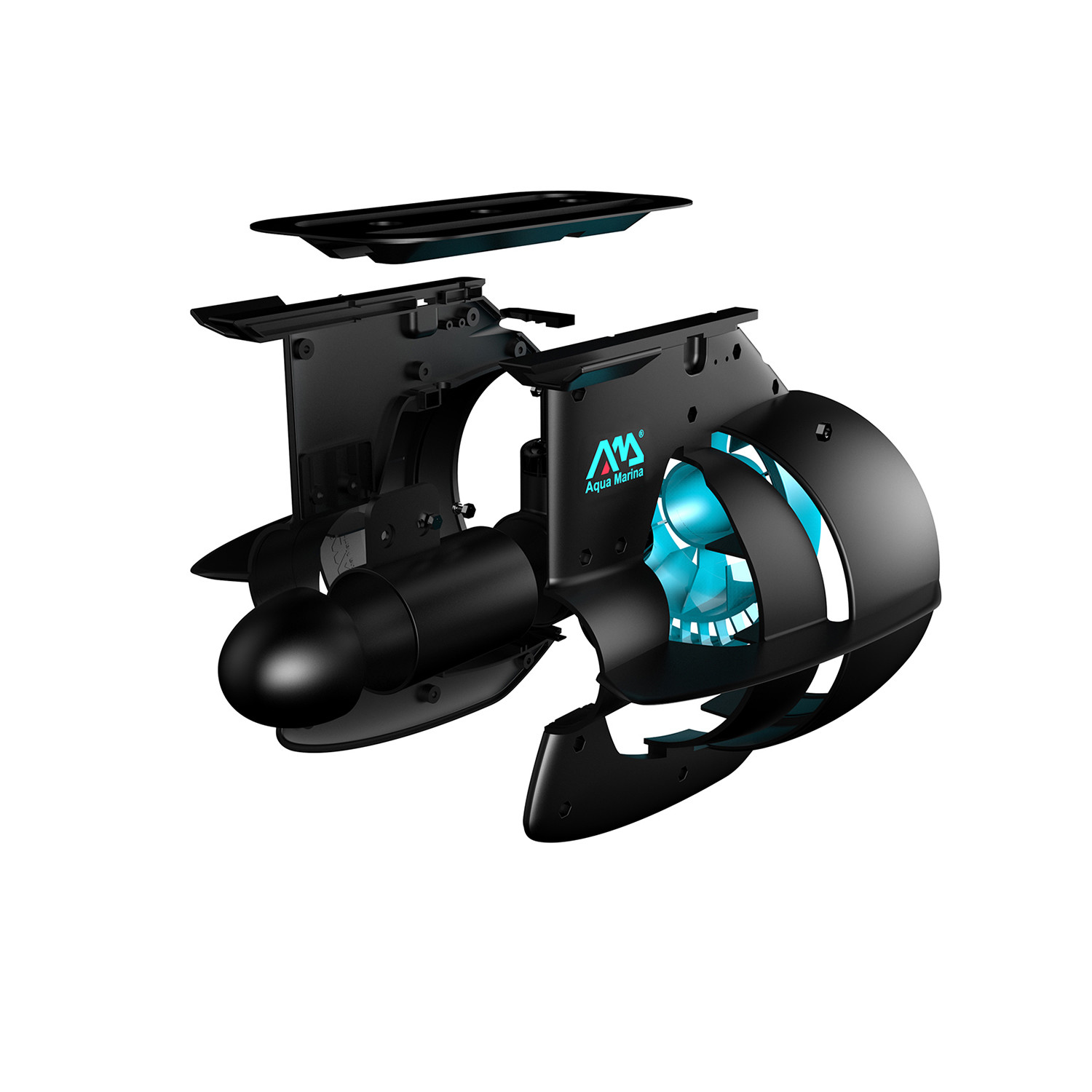 bluedrive power fin aqua marina touch of modern