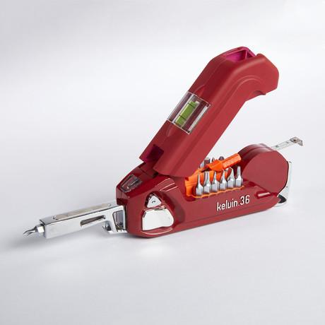 Kelvin 36 Ultra Urban Multi Tool // Crimson