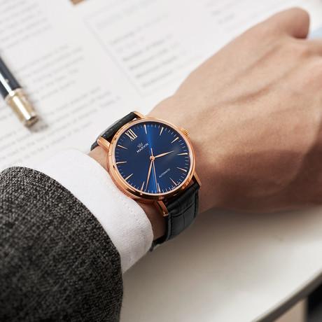Marvin Watches // Origin Gent Mechanical // M125.53.52.74