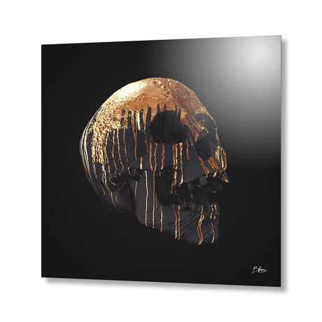 Dripping Decay III // Aluminum Print