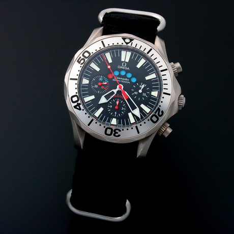 Omega Seamaster Racing Chronograph Automatic // 25695 // c. 1990s // Pre-Owned