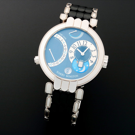 Harry Winston Time Zone Manual Wind // MMTZ //c. 2010s // Pre-Owned