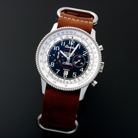 Breitling Montbrillant Navitimer Chronograph Automatic // Limited Edition // A3533 // c. 2010s // Pre-Owned