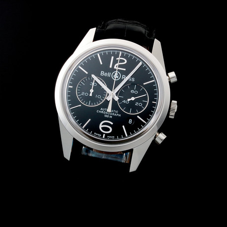 Bell & Ross Chronograph Date Automatic // BR126 // c. 2016 //  Unworn