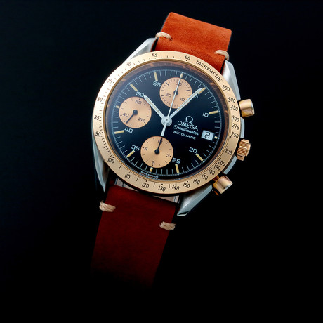 Omega Speedmaster Date Automatic // 35205 // c. 1990s // Pre-Owned
