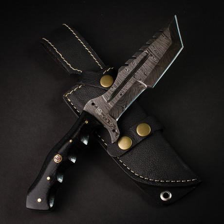 Kimura Damascus Tanto Knife