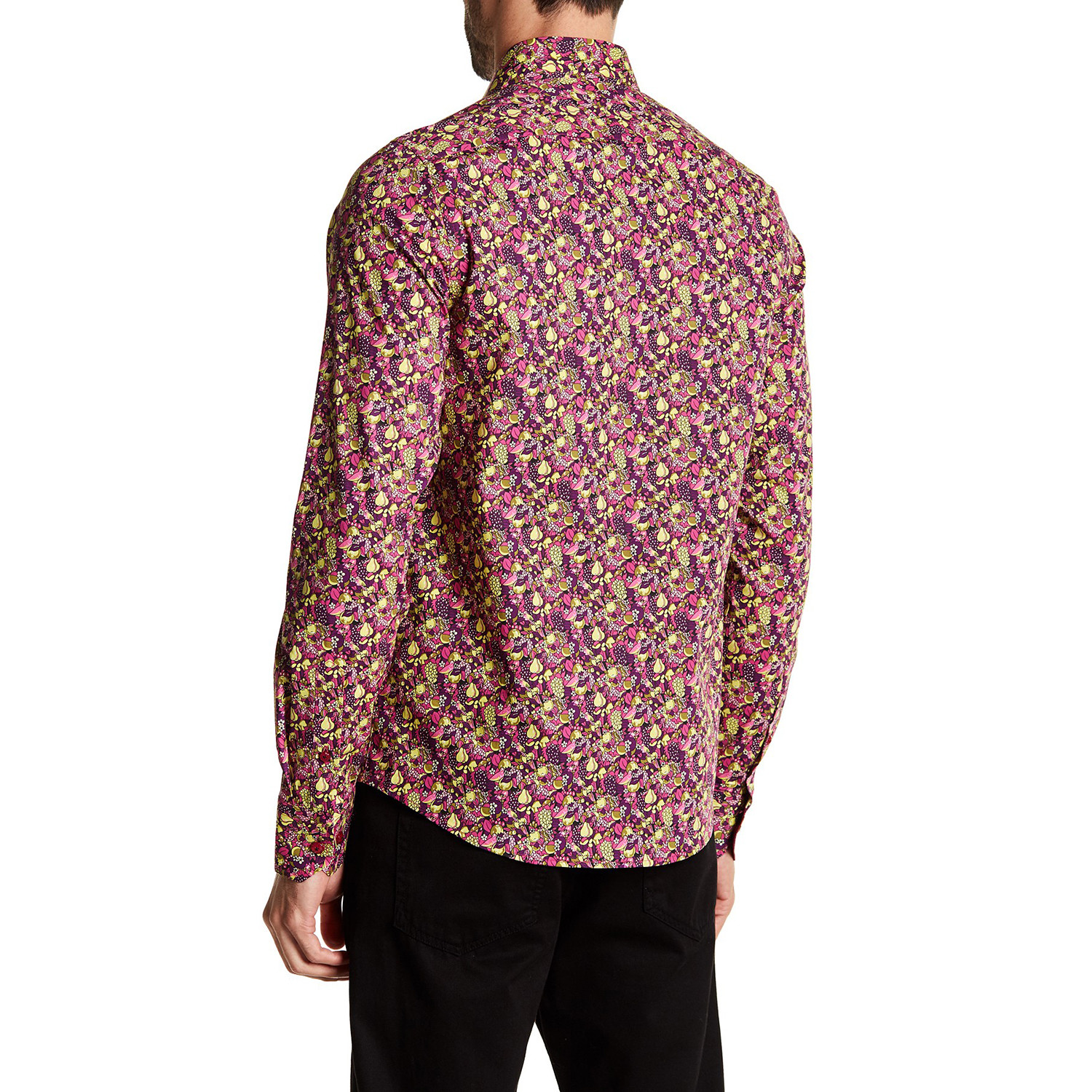 Harvest Long Sleeve Button Up Shirt Multi Colored S