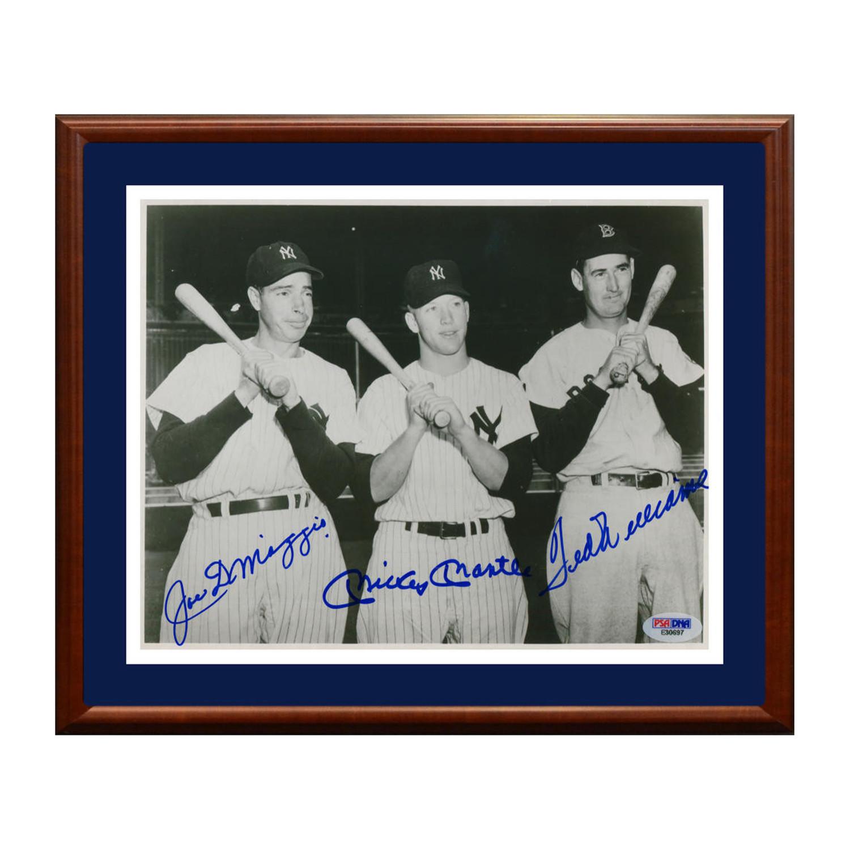 b95c4e4345e 05e0992bfcb6b8d83249f39c174f1f37 medium · Mickey Mantle + Joe DiMaggio + Ted  Williams ...