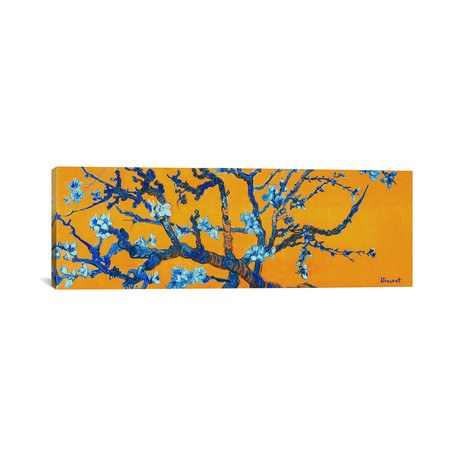 Almond Blossom (Orange) // Vincent Van Gogh