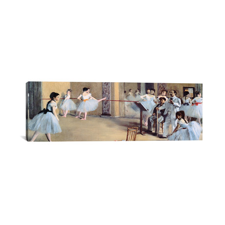The Dance Foyer At The Opera // Edgar Degas