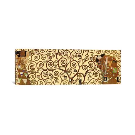 """The Tree of Life // Gustav Klimt (60""""W x 20""""H x 0.75""""D)"""
