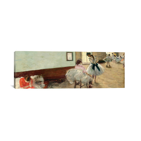The Dance Lesson, C.1879 // Edgar Degas