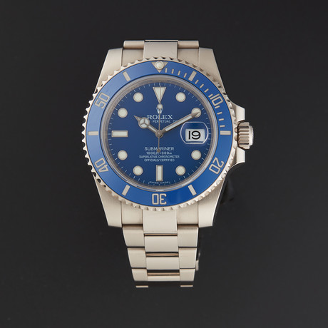 Rolex Submariner Automatic // 116619LB // Pre-Owned