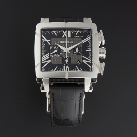 Tiffany & Co Atlas Chronograph Automatic // 1100.82.12A10A71A // Store Display